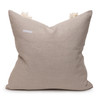 Muse 22 PURE LINEN Pillow Aquamarine - Back
