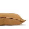 Simone PURE LINEN Pillow Dijon Mustard- 22 - Side