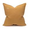 Simone PURE LINEN Pillow Dijon Mustard- 22 - Back