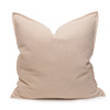 Simone PURE LINEN Pillow - Creme Brulee - front