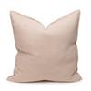 Simone PURE LINEN Pillow - Creme Brulee - back