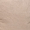Simone PURE LINEN Pillow - Creme Brulee - fabric detail