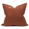Simone PURE LINEN pillow Rust - back