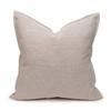Simone PURE LINEN pillow Natural - back