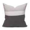 Cooper Pillow PURE LINEN Charcoal - Back