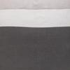 Cooper Pillow PURE LINEN Charcoal - Detail