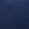 Navy Blue PURE LINEN Pillow 22 - Fabric Detail