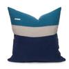 Cooper PURE Linen Pillow Navy - Back