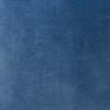 Sophie Kyanite Blue Velvet and Navy Linen Pillow - Side