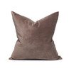 Sophie Smokey Quartz Velvet Decorative Pillow - Front