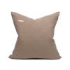 Sophie Smokey Quartz Velvet Decorative Pillow - Back