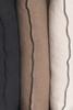 House of Cindy Santal Linen Pillow Collection Black Edge Detail