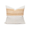 Charlie Linen and Aso Oke Pillow - Front