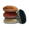 House of Cindy Ronde Round Velvet Pillow
