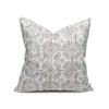 Jaipur Dreams Pewter Pillow - 22 - Front