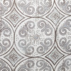 Jaipur Dreams Pewter Fabric Detail