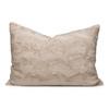 Charlotte Vegan Faux Fur Pillow Cuddle Sand - Front