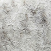 Charlotte Gray Vegan Faux Fur Pillow Cozy Granite - Fabric Detail