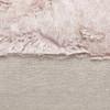 Fable Blush Vegan Faux Fur Lumbar Pillow  - Fabric Detail