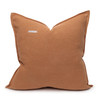 Simone PURE LINEN pillow Sunstone - back