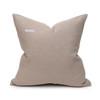Bondi Hemp Indigo Pillow - 20 - Back