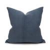 Bondi Hemp Indigo Pillow - 20 - Front