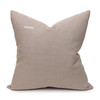 Talmage Indigo Linen Pillow - Back