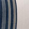 Marin Lumbar Blue Indigo Mud Cloth Pillow - 1427 - Fabric Detail