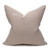 Marin Blue Indigo Mud Cloth Pillow - 22 - Back View