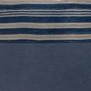 Marin Blue Indigo Mud Cloth Pillow - 22 - Fabric Detail