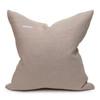 Harbor Blue Aso Oke Indigo Linen Pillow - 22 - Back