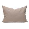 Bondi Hemp Indigo Lumbar Pillow - 17x26 - Back