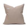 Hemp Stone Pillow - 20 - Back