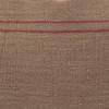 Hemp Stone Lumbar Pillow - 17 x 26 - Fabric Detail