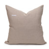 Lina Sand Luxe Vintage Pillow - 22 - Back