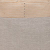Lina Sand Luxe Vintage Pillow - 22 - Fabric Detail