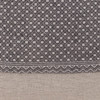 Evan Gray Luxe Vintage Pillow - 20 - Fabric Detail
