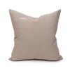 Evan Taupe Luxe Vintage Pillow - 20 - Back