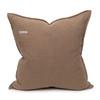 Simone PURE LINEN pillow Stone - back