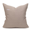 Coral Seas Aso Oke Luxe Vintage Pillow - 22 - Back