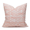 Talmage Tangor Linen Pillow - Front