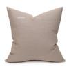 Talmage Tangor Linen Pillow - Back