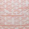 Talmage Tangor Linen Pillow - Fabric Detail