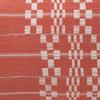 Coral Seas Aso Oke Luxe Vintage Lumbar Pillow - 16 x 22 - Fabric Detail