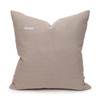 Desert Sand Aso Oke Luxe Vintage Pillow - 22 - Back