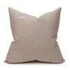 Jaipur Dreams India Pink Linen Print 22x22 Pillow - back