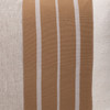Mojave Natural Linen Aso Oke Luxe Vintage Lumbar Pillow - 16 x 22 - Detail