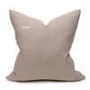 Mojave Linen Aso Oke Luxe Vintage Pillow - 22 - Back