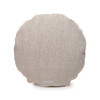 Ronde PURE LINEN Round Pillow - Back