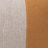 Dime Dijon Mustard and Natural Linen Lumbar Pillow - 14 x 20  - Detail